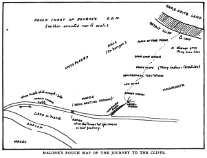 Fig.8 (Ch. 4) Doyle, Map of the Cliffs